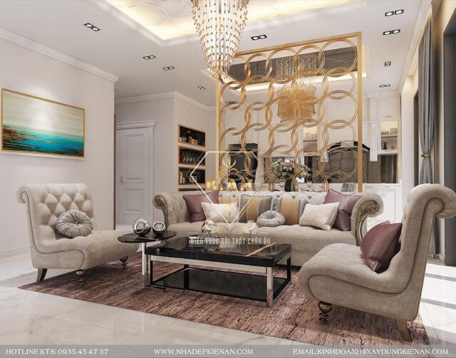 thiet ke noi that phong khach phong cach luxury2