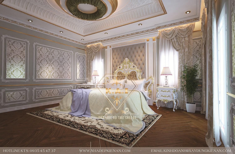 Thiết kế nội thất biệt thự cổ điển Pháp tại Bình Dương