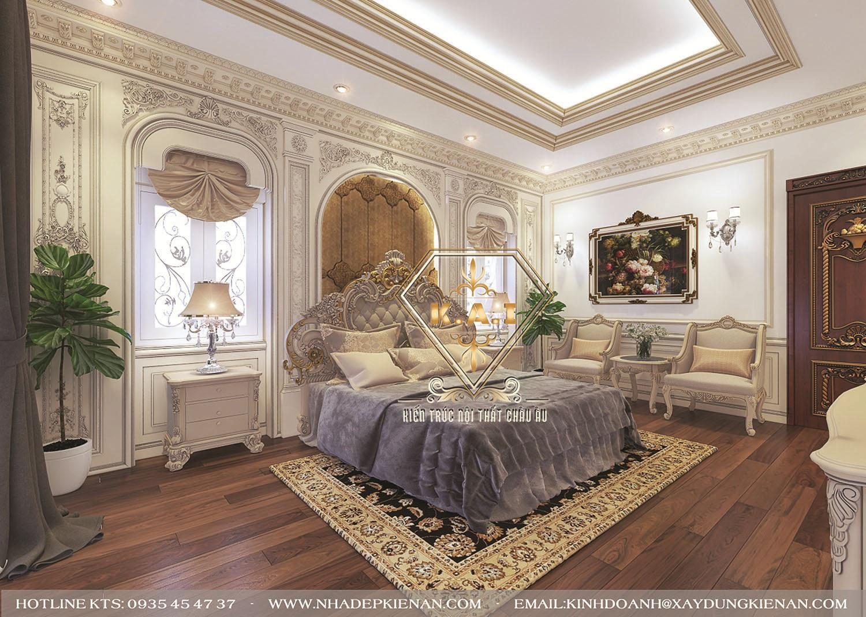 Mẫu thiết kế nội thất cổ điển Châu Âu