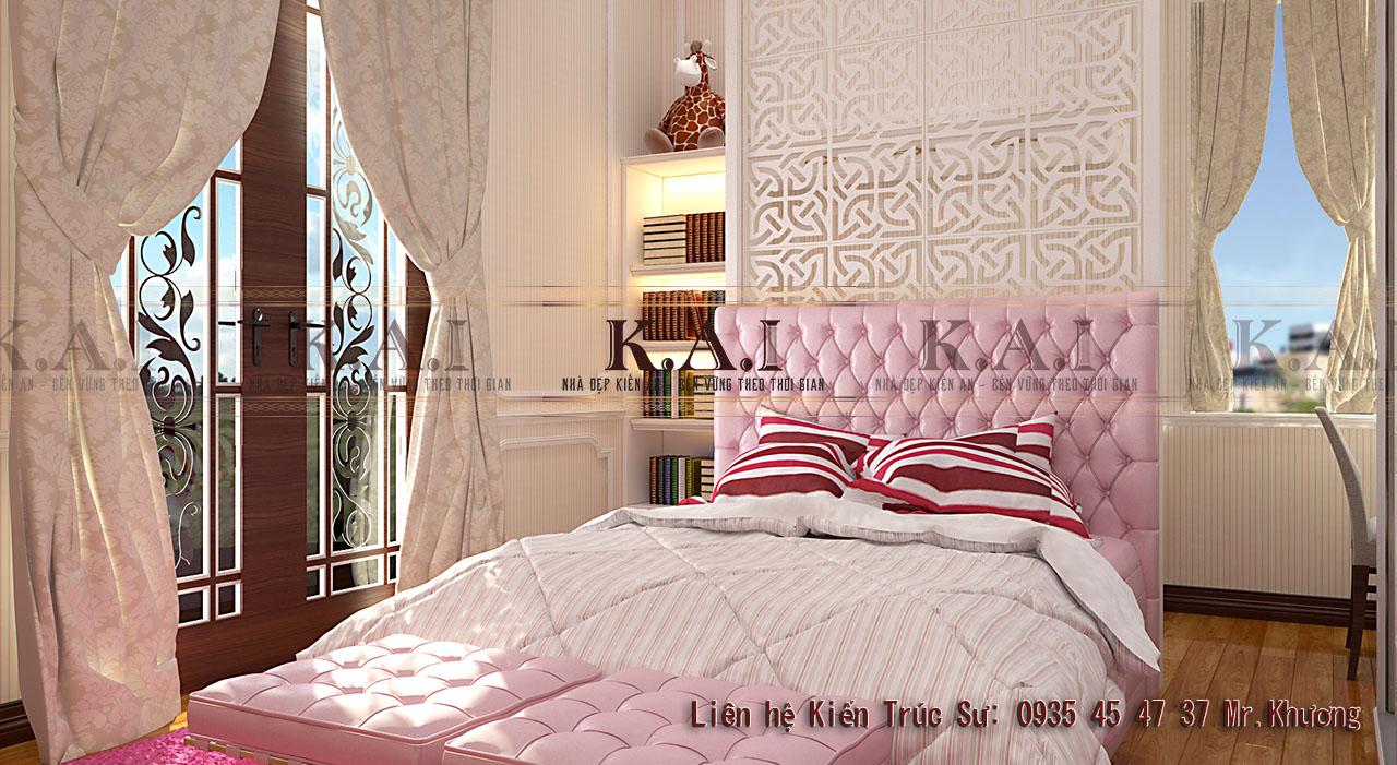 Thiết kế phòng ngủ 22m2