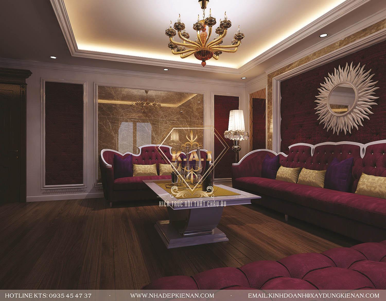 Thiết kế nội thất theo phong cách tân cổ điển