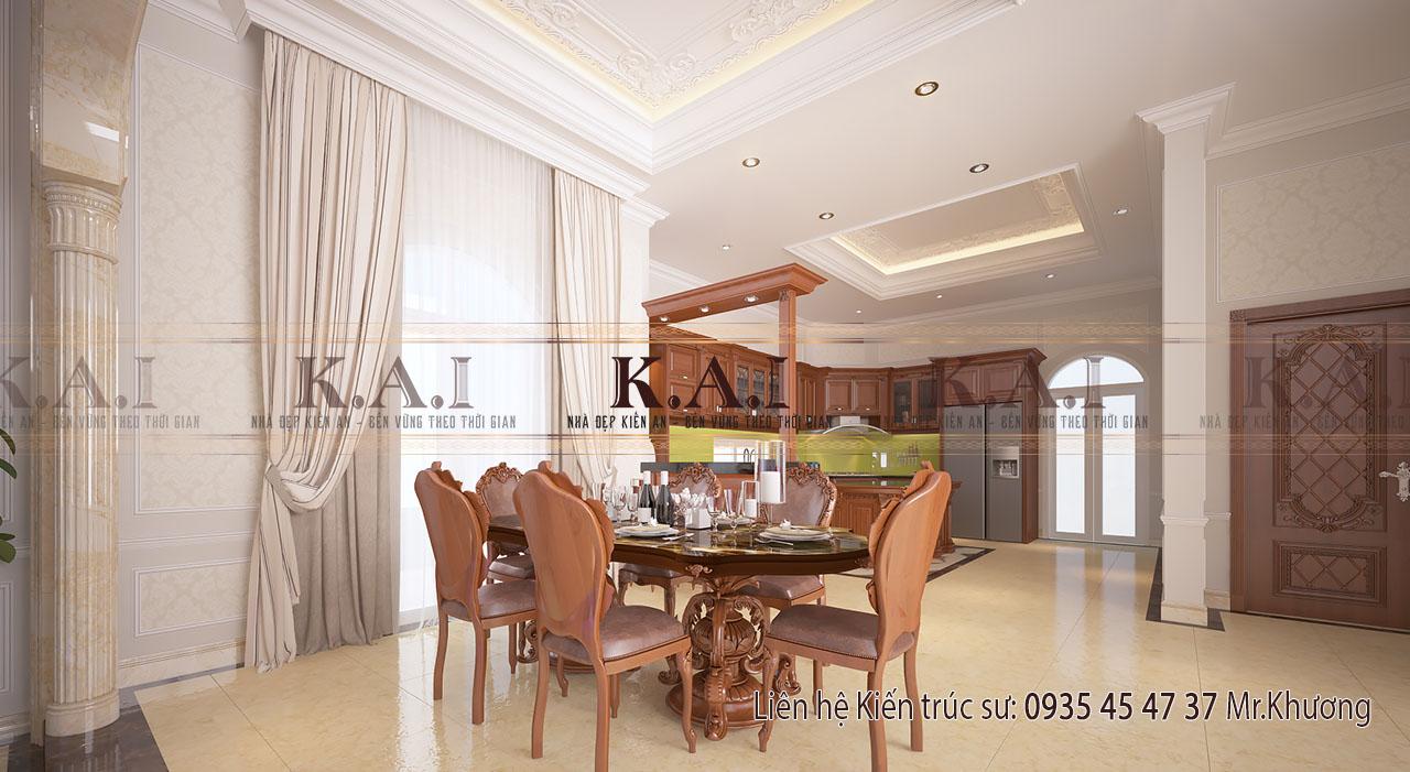 Thiết kế nội thất cao cấp cho không gian bếp
