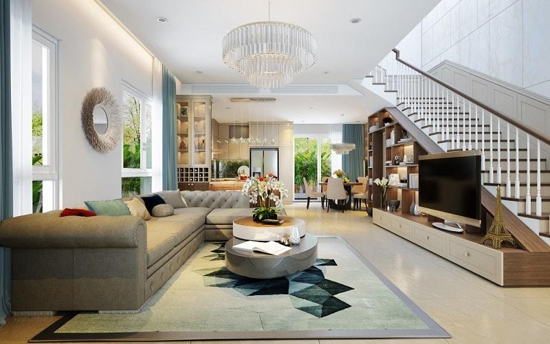 Cập nhật xu hướng thiết kế nội thất phòng khách 2020 mới nhất
