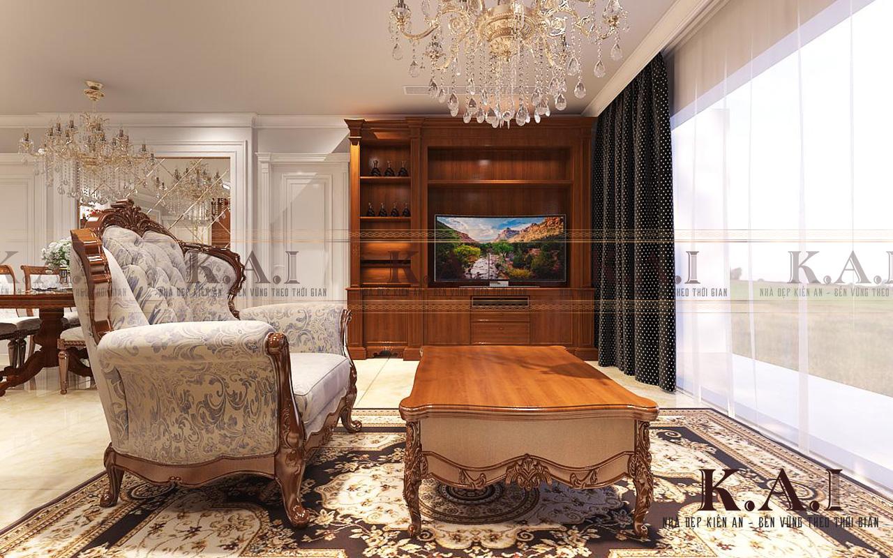 Thiết kế nội thất căn hộ 3 phòng ngủ 110m2 tại Aqua 2