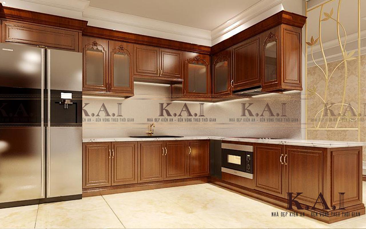 Thiết kế nội thất căn hộ 3 phòng ngủ 110m2 chung cư Aqua2 Vinhome Bason