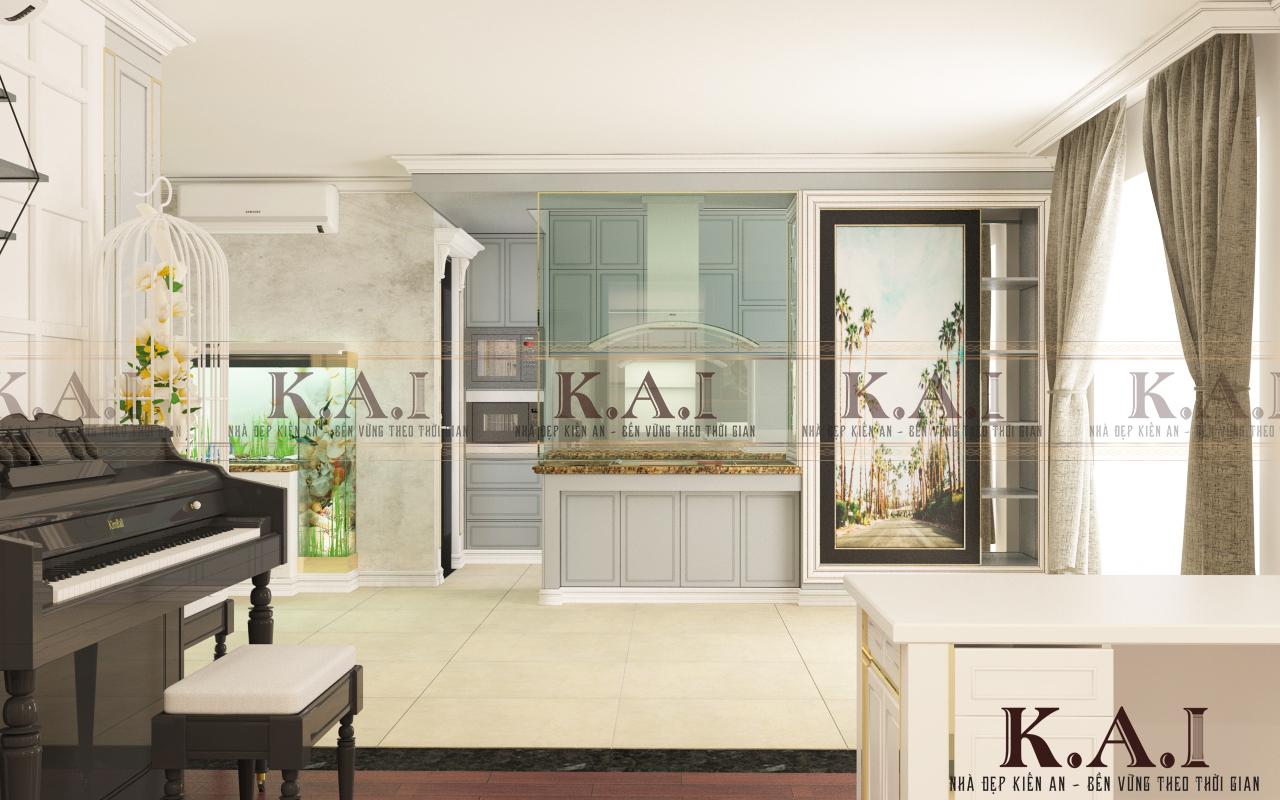 Những điểm lưu ý khi thiết kế thi công nội thất căn hộ tại khu chung cư cao cấp