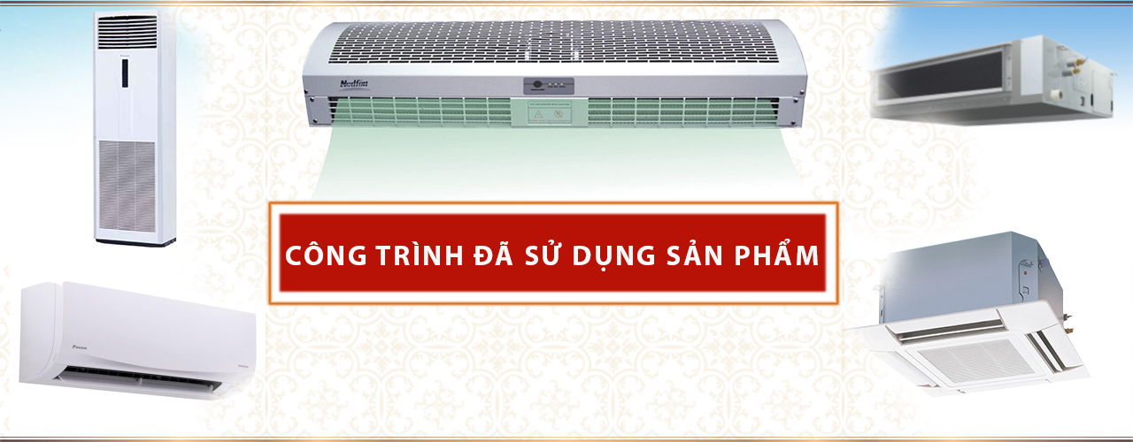 Nhà Đẹp Kiến An thi công hệ thống điều hoà không khí hệ ống gió
