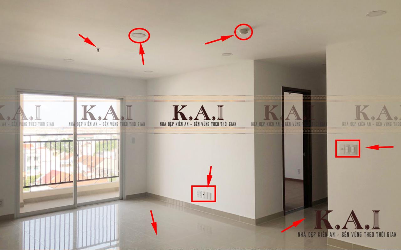 Kiểm tra thực tế thiết kế thi công nội thất căn hộ
