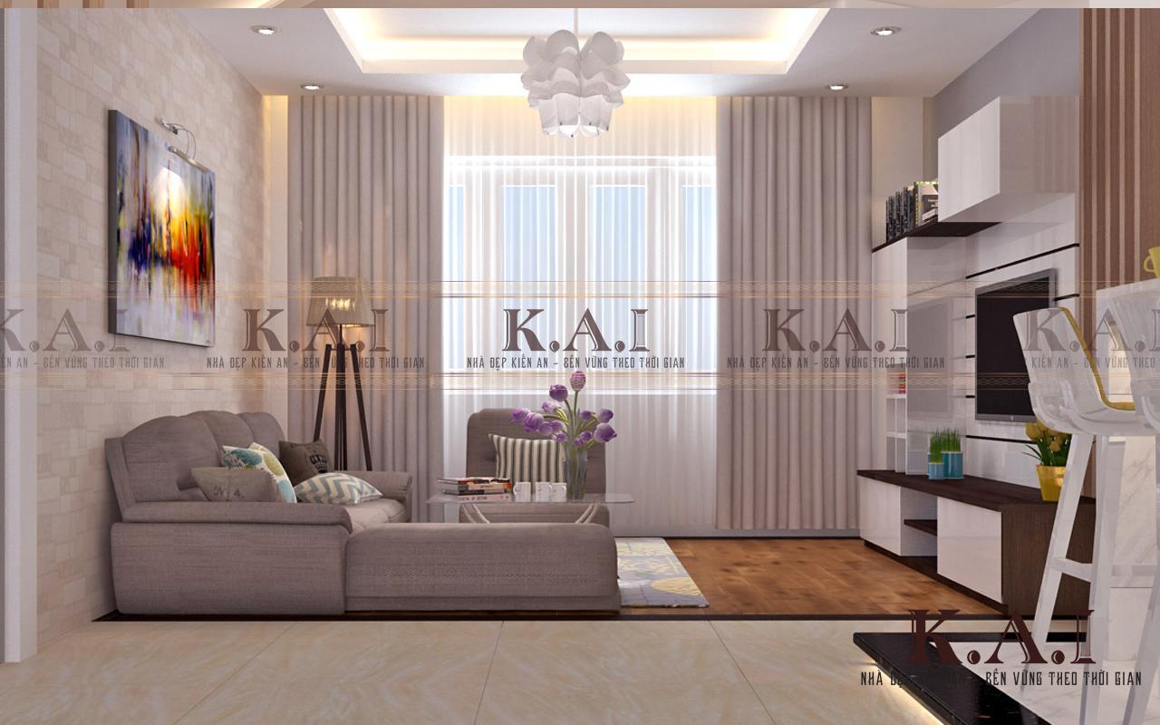 Thiết kế cải tạo nội thất căn hộ 136m2 tại chung cư Tân Phước