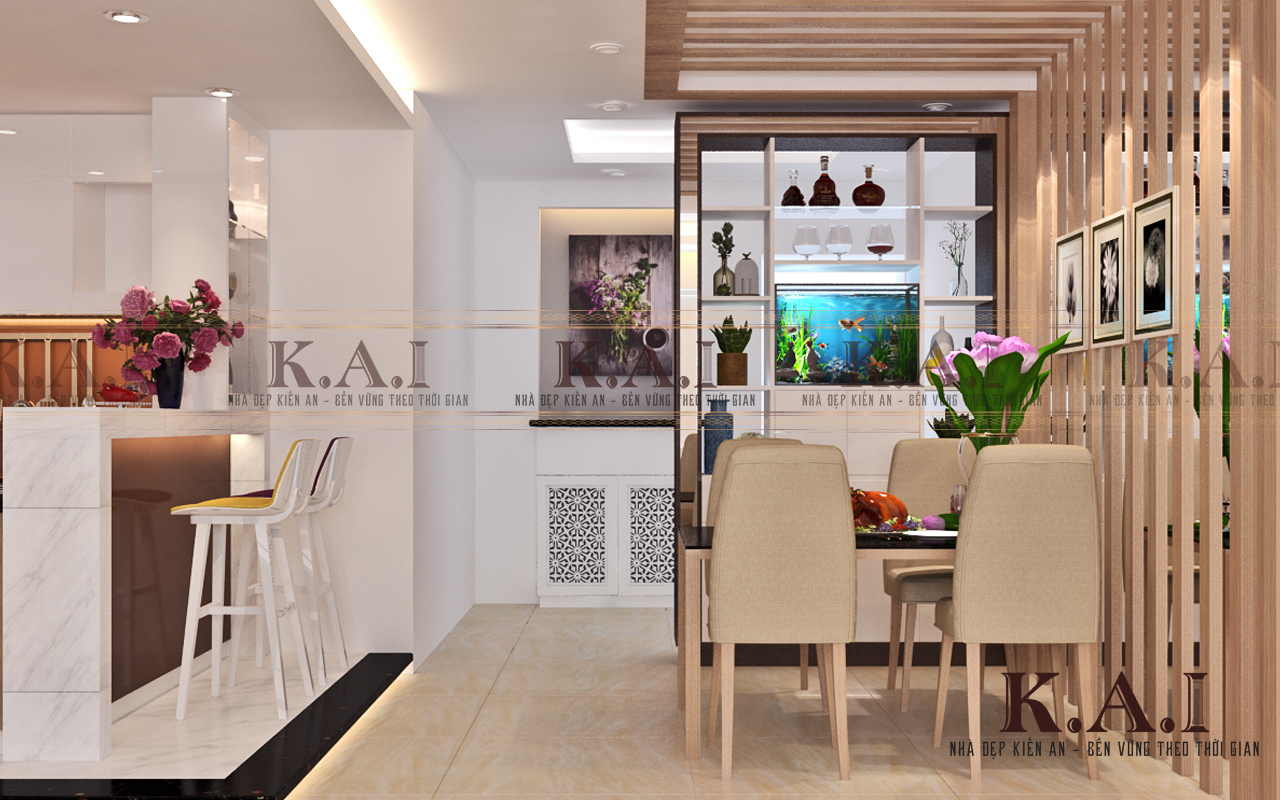 thiết kế cải tạo nội thất căn hộ