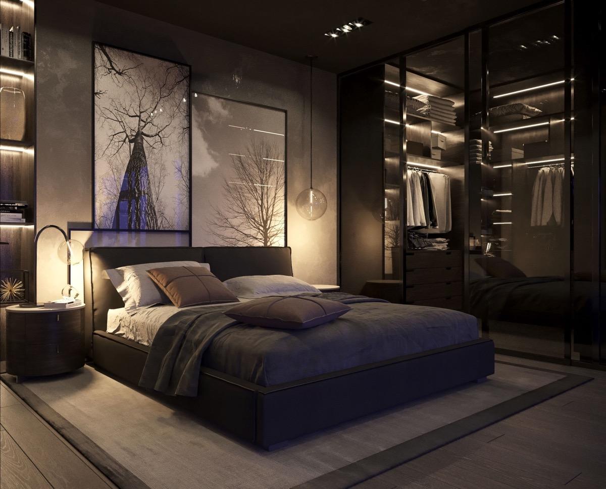 Phòng ngủ có nên sử dụng màu đen không