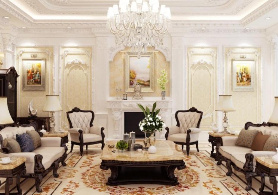 5 đặc trưng của phong cách thiết kế nội thất tân cổ điển