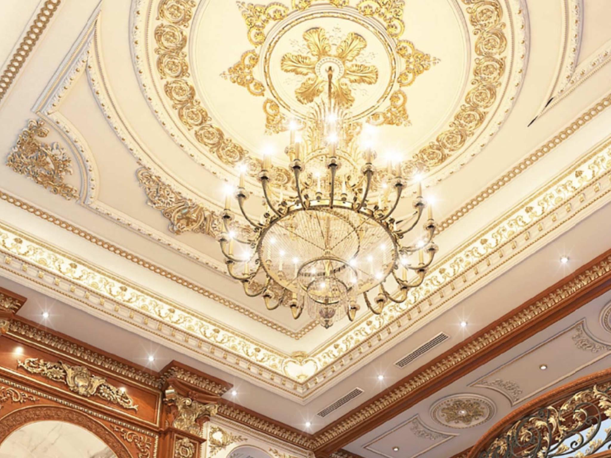 Các loại phào chỉ trần thạch cao trong thiết kế nội thất