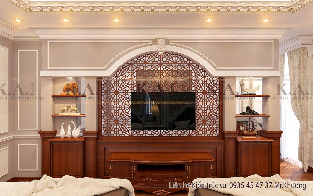 Mẫu thiết kế nội thất phòng ngủ đôi đẹp