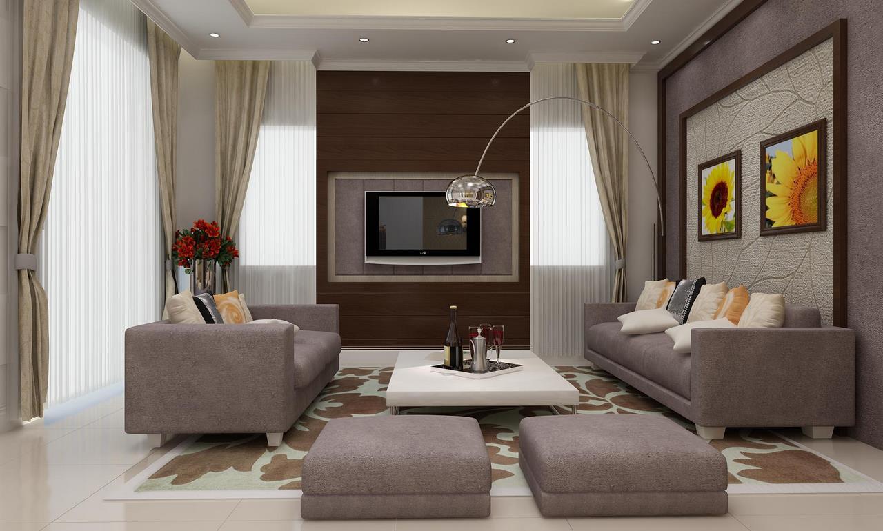 Mẫu thiết kế nội thất cho biệt thự mini 2 tầng của anh Minh