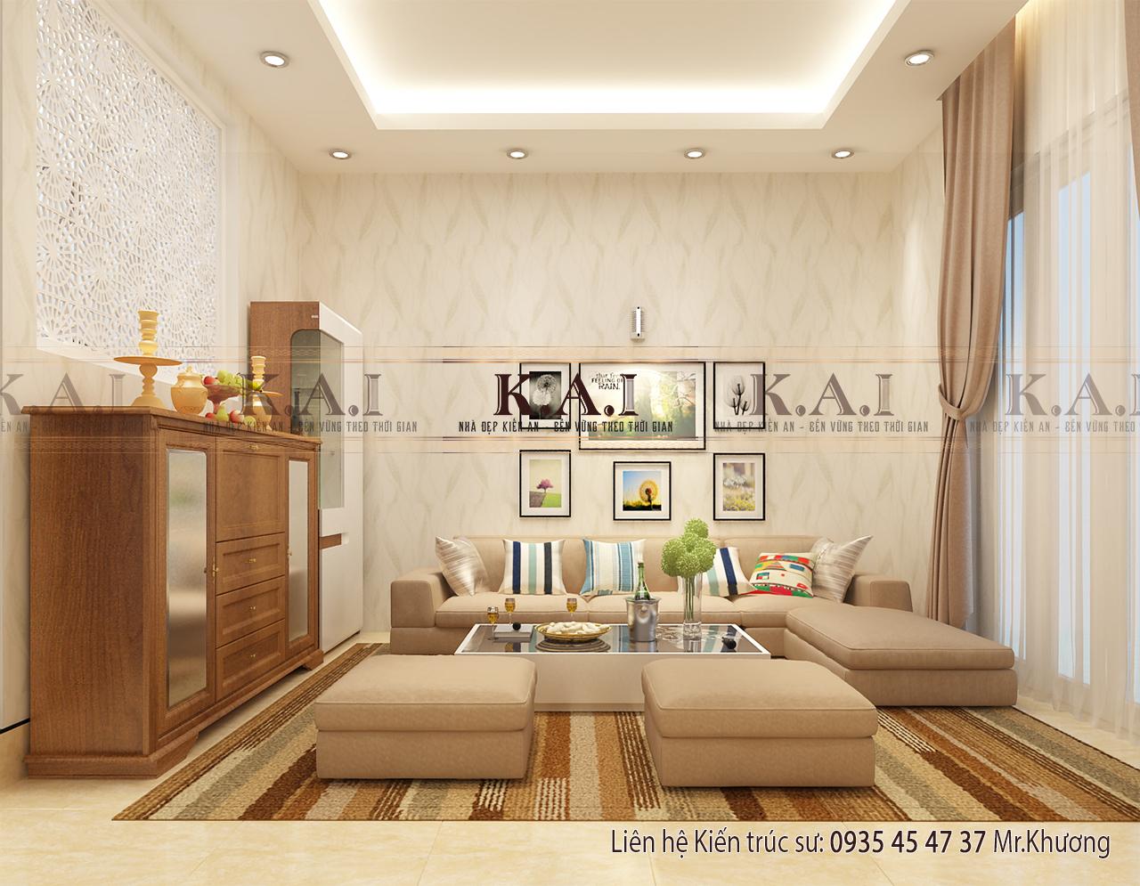 Thiết kế nội thất nhà phố tiết kiệm không gian