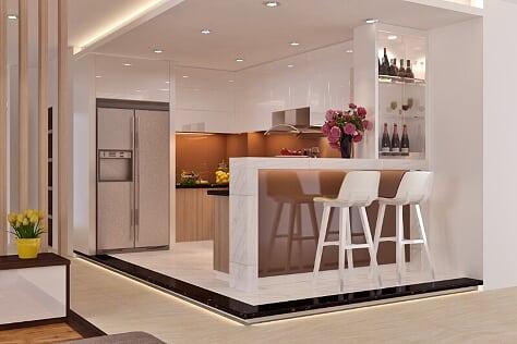 Mê mẩn với thiết kế nội thất căn hộ chung cư của anh Sơn
