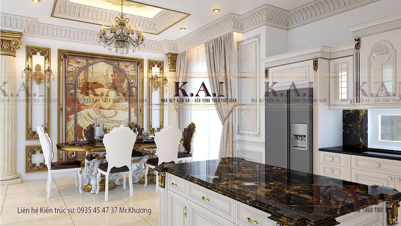 Những người theo phong cách thiết kế nội thất cổ điển không ngại chi tiền vào vật liệu và đồ nội thất cao cấp