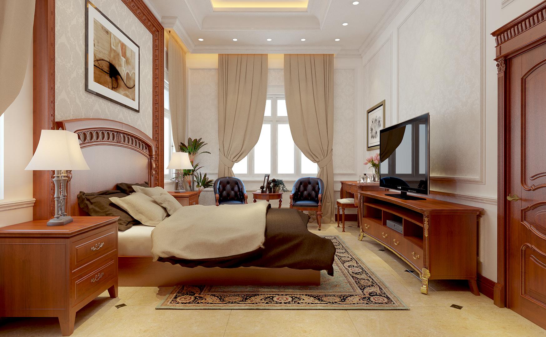 Thiết kế nội thất biệt thự mini nhà anh Hoan – Đồng Nai