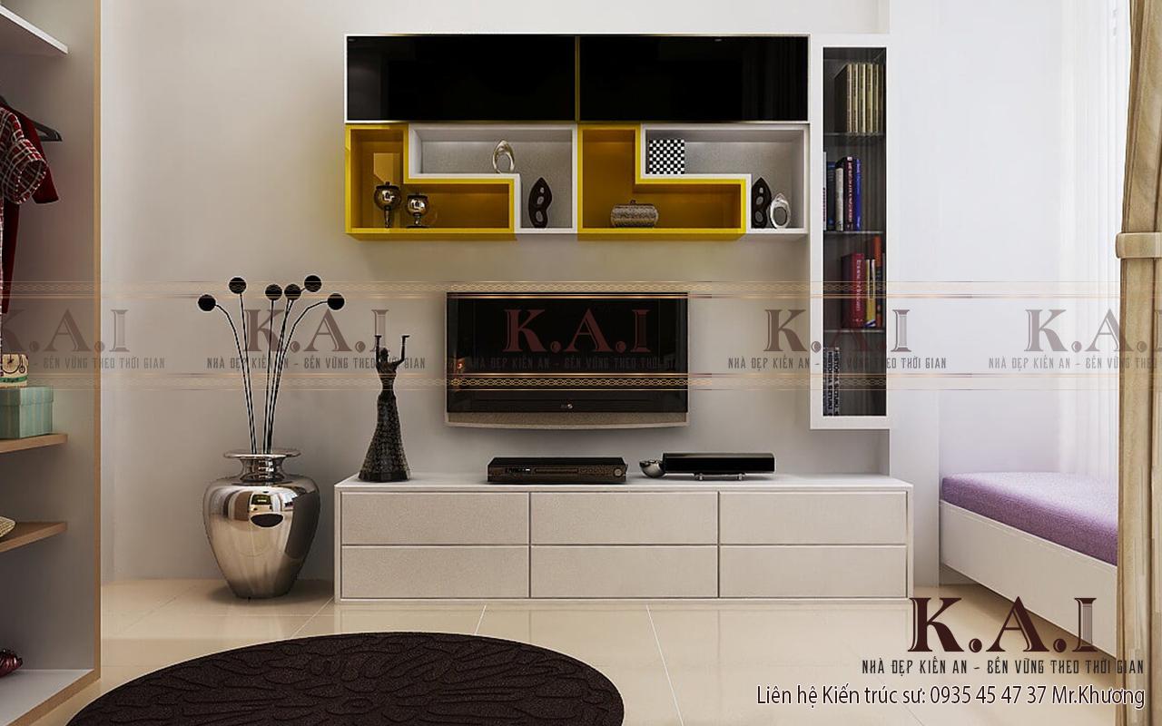 Thiết kế nội thất phong cách hiện đại tối ưu không gian và nghệ thuật hình học