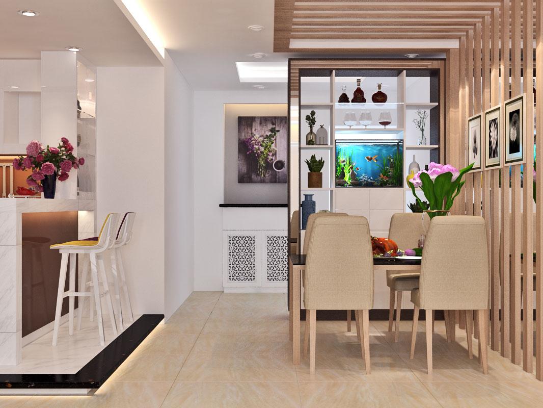 Mẫu thiết kế nội thất căn hộ chung cư - anh Sơn