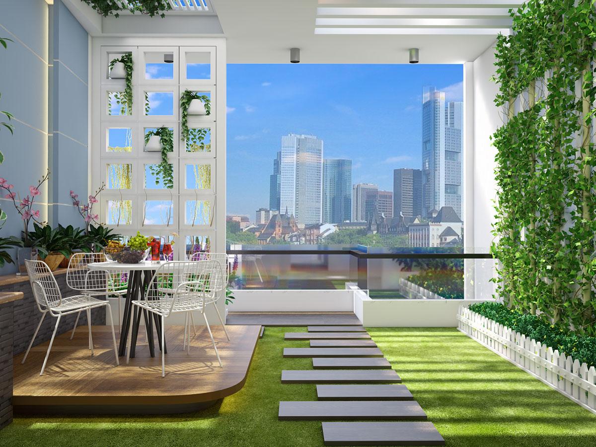 Mẫu thiết kế nhà phố phong cách hiện đại - anh Phương, Bình Chánh