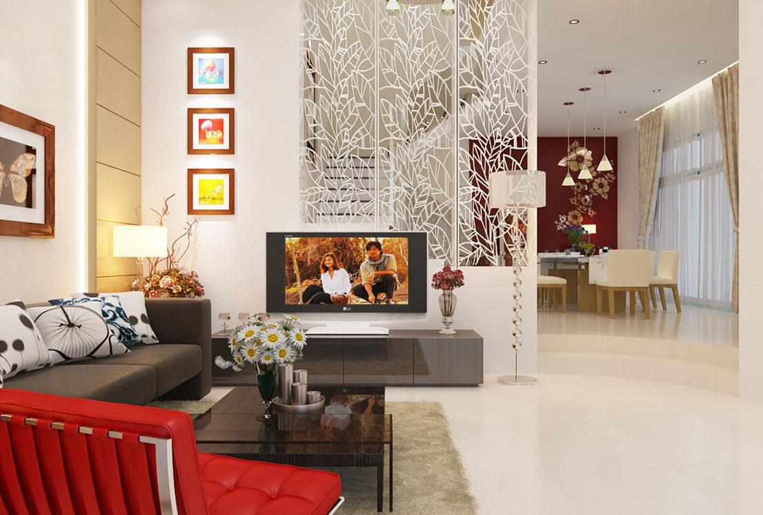 Mẫu thiết kế nội thất biệt thự hiện đại đẹp tại Tiền Giang