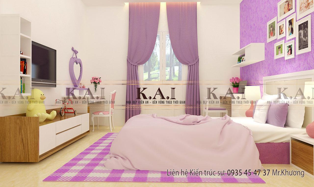 Nội thất phòng ngủ nhà cấp 4