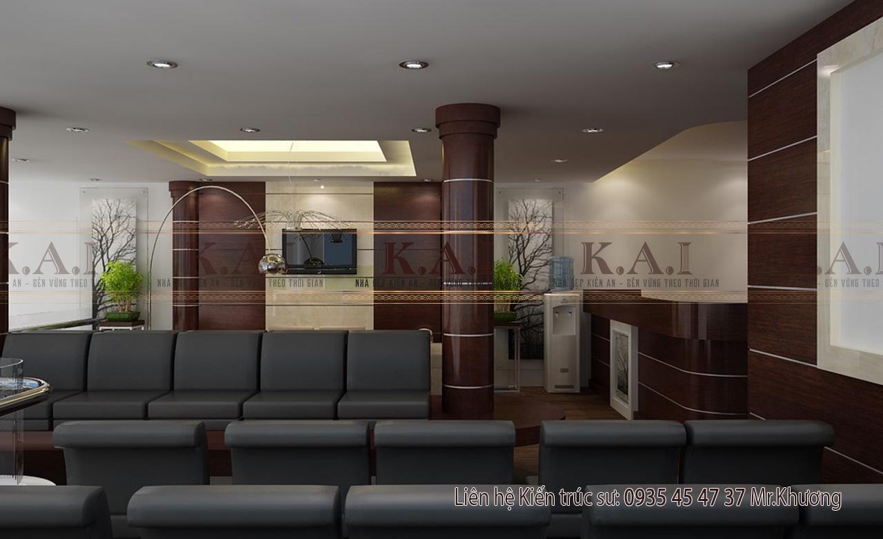 Thiết kế nội thất văn phòng công chứng quận 6