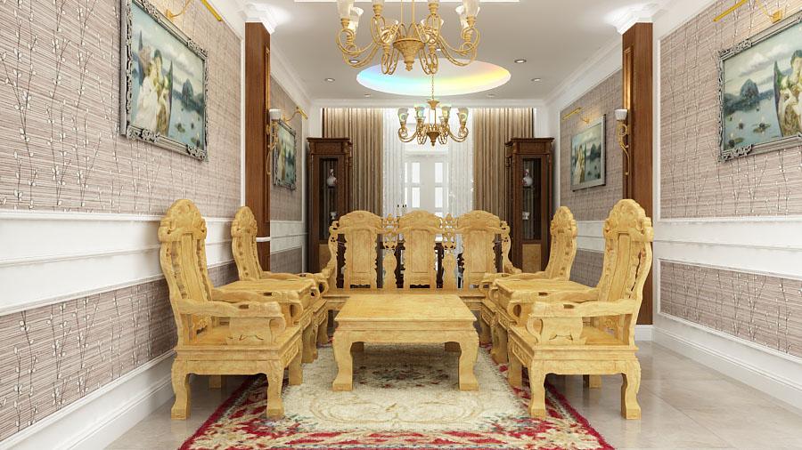Những hình ảnh nội thất đẹp nhà ống 4 tầng tại Tân Bình