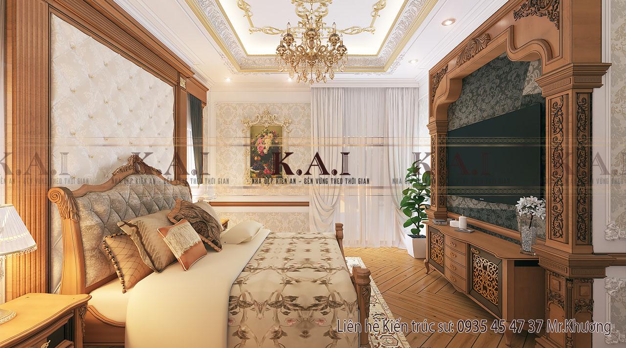 thiết kế nội thất cho nhà biệt thự - phòng ngủ