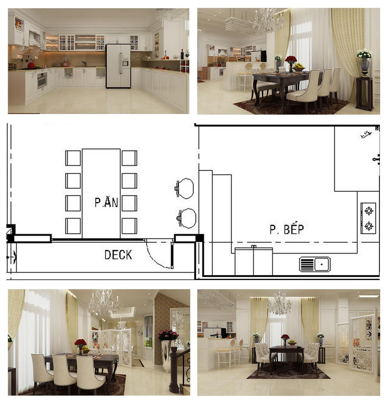 Bản 2D, 3D thiết kế nội thất nhà ở