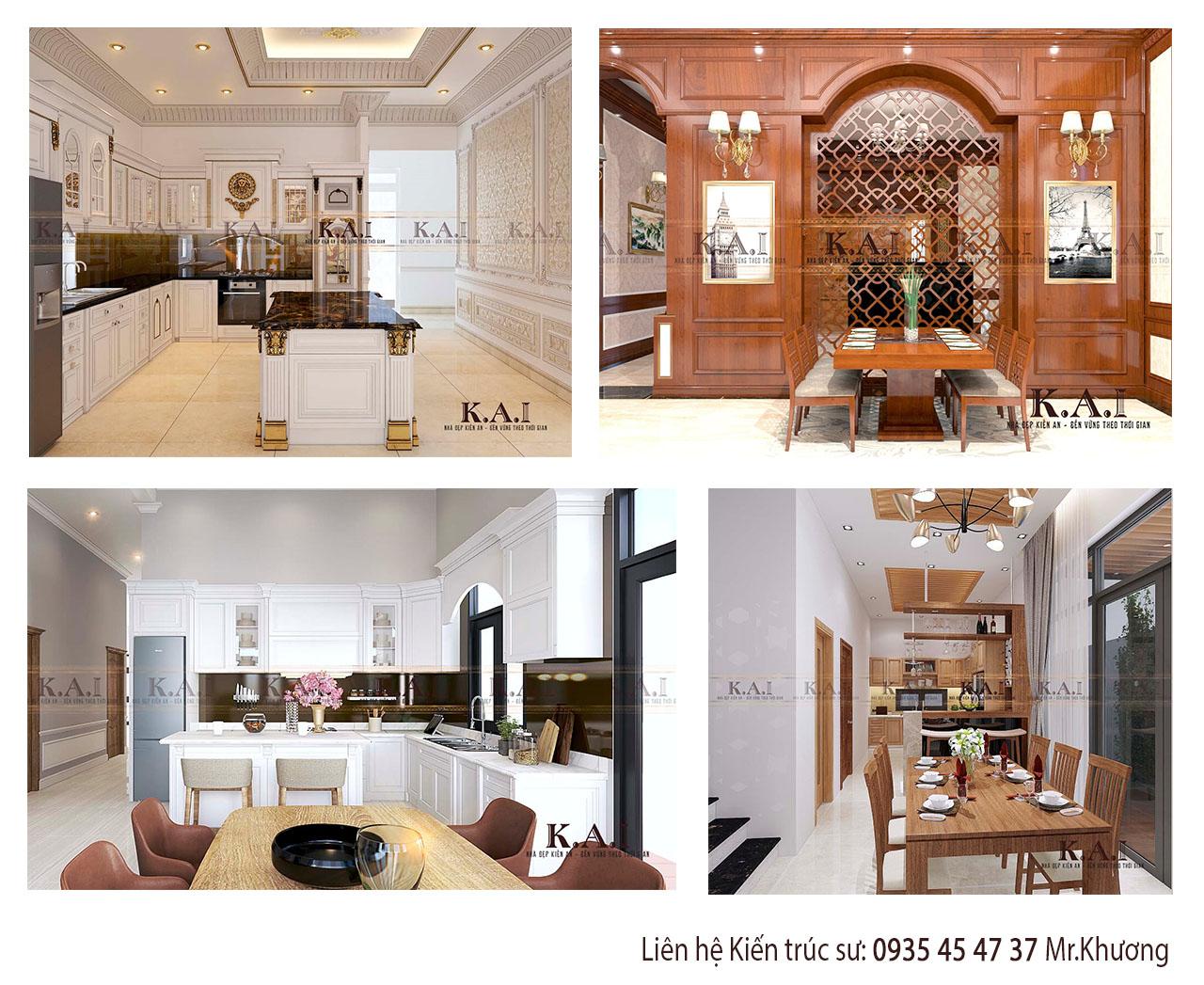 Hình ảnh phòng bếp - thiết kế nội thất nhà ỏw