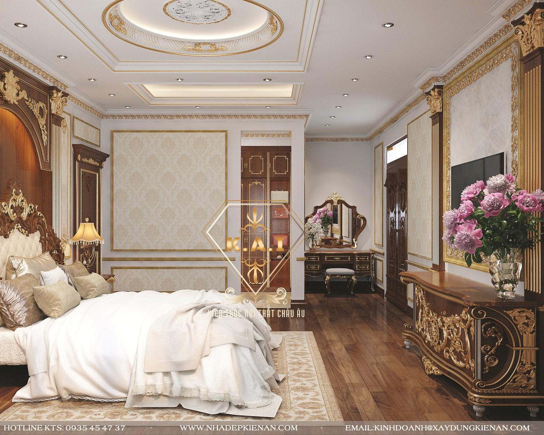 Những mẫu thiết kế phòng ngủ master tân cổ điển đẹp không thể bỏ qua