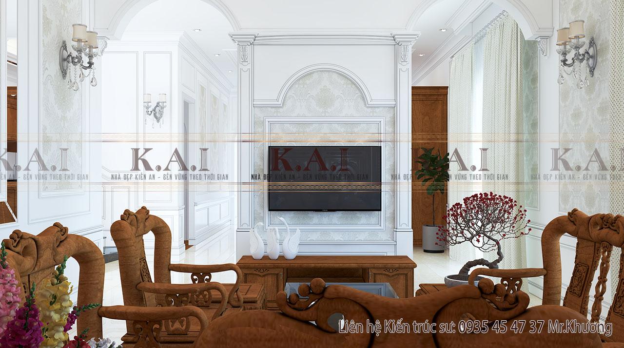 Thiết kế nội thất cho biệt thự