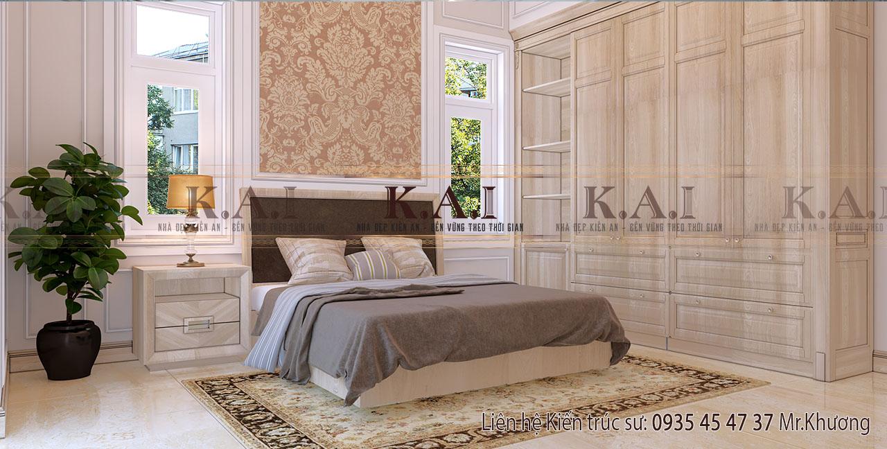 Thiết kế trang trí nội thất phòng ngủ