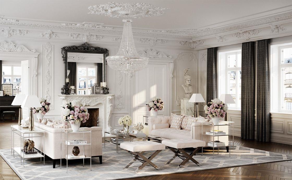 Cách ứng dụng phong cách nội thất Baroque