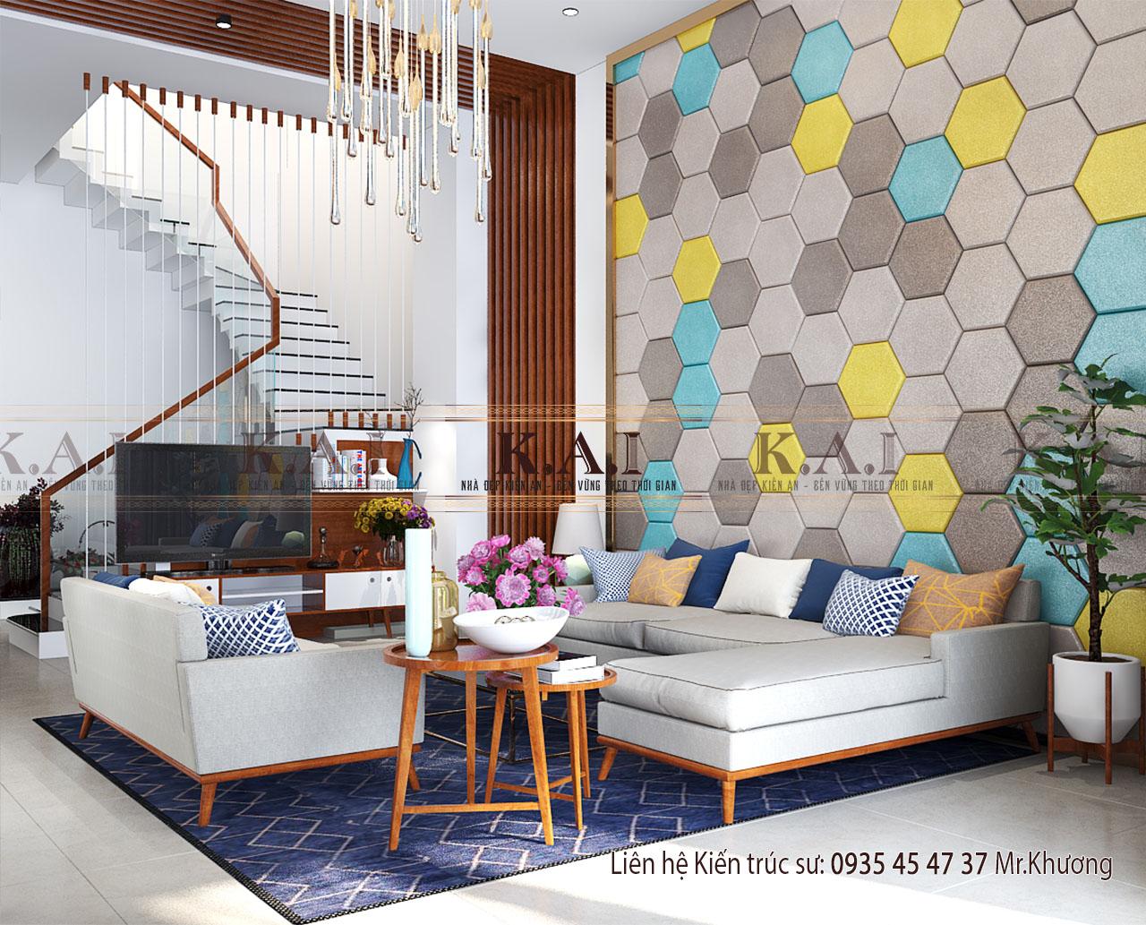 Thiết kế nội thất nhà đẹp hiện đại cho biệt thự tại Tây Ninh