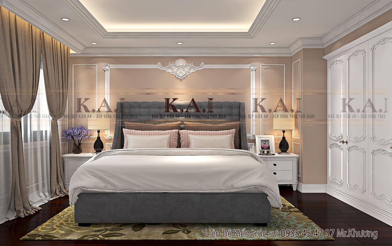 thiết kế cho phòng ngủ 10m2