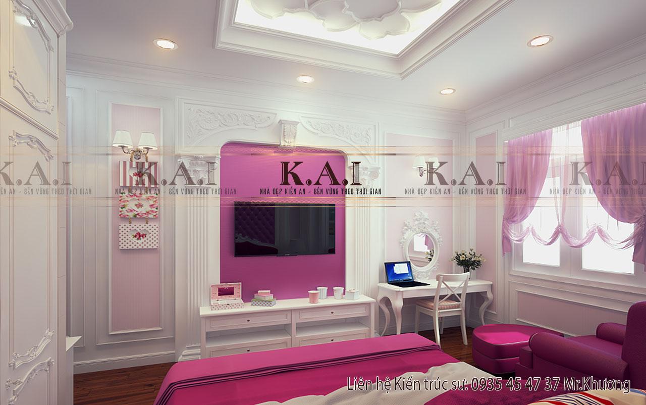 thiết kế nội thất cho phòng ngủ 20m2