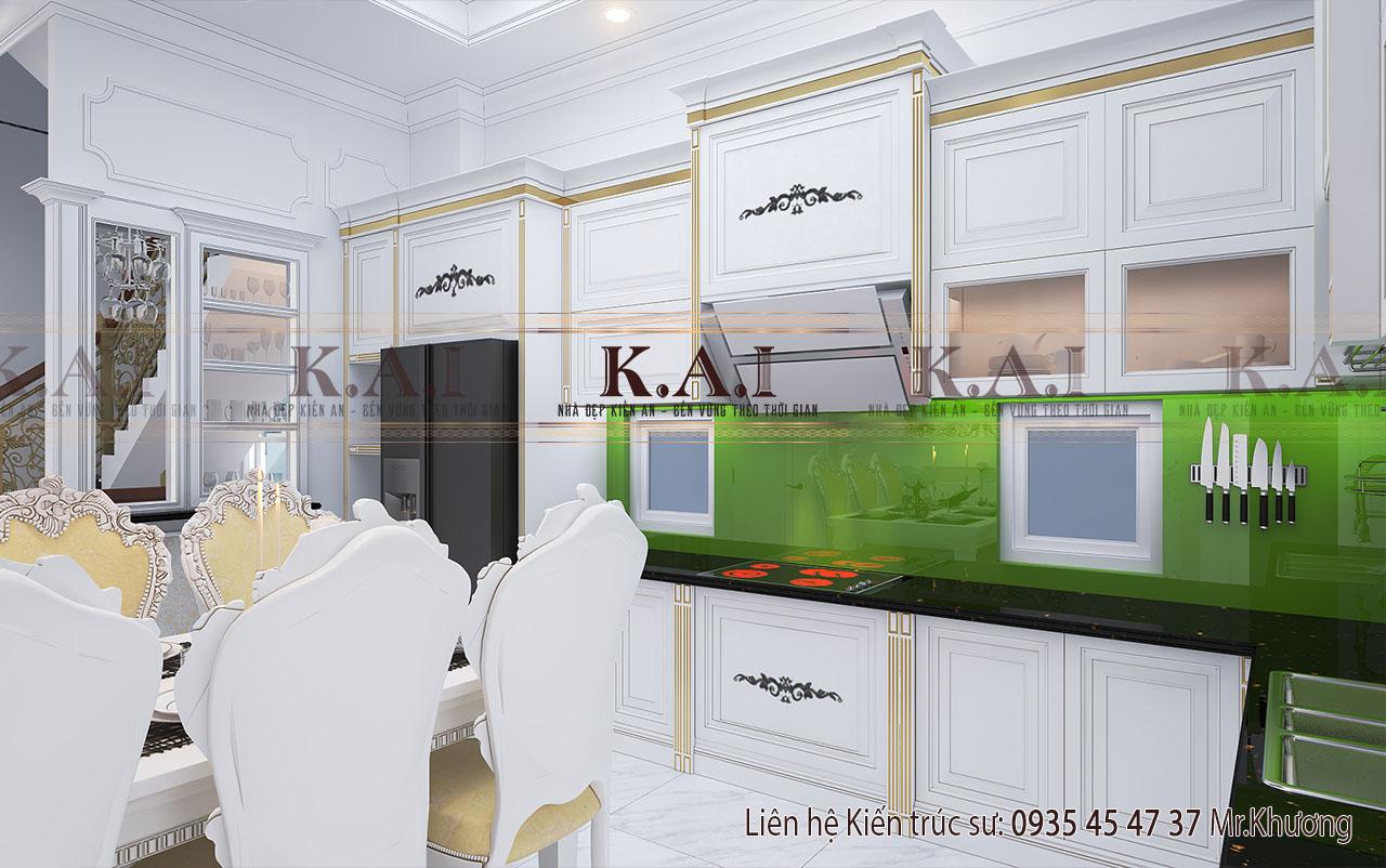 Phòng bếp - thiết kế nội thất nội thất nhà 100m2
