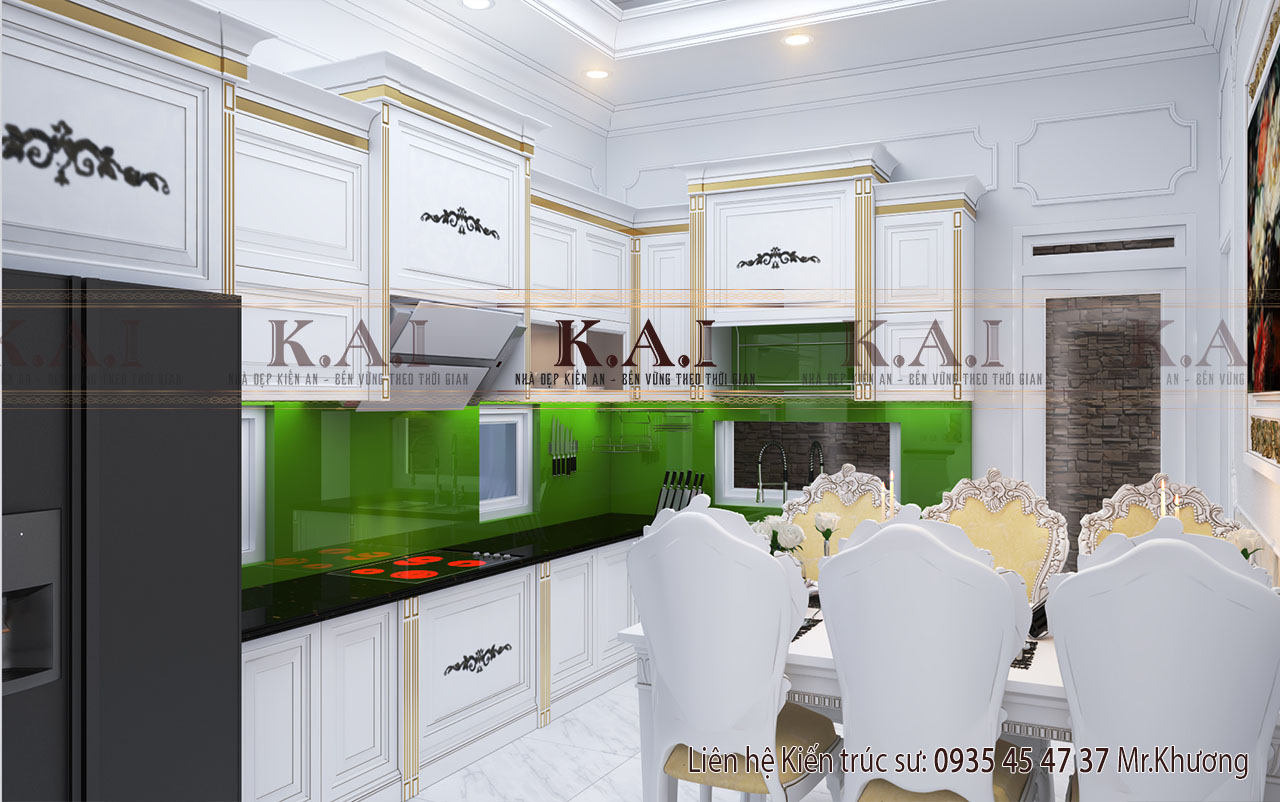 Phòng bếp - thiết kế nội thất nội thất nhà biệt thự