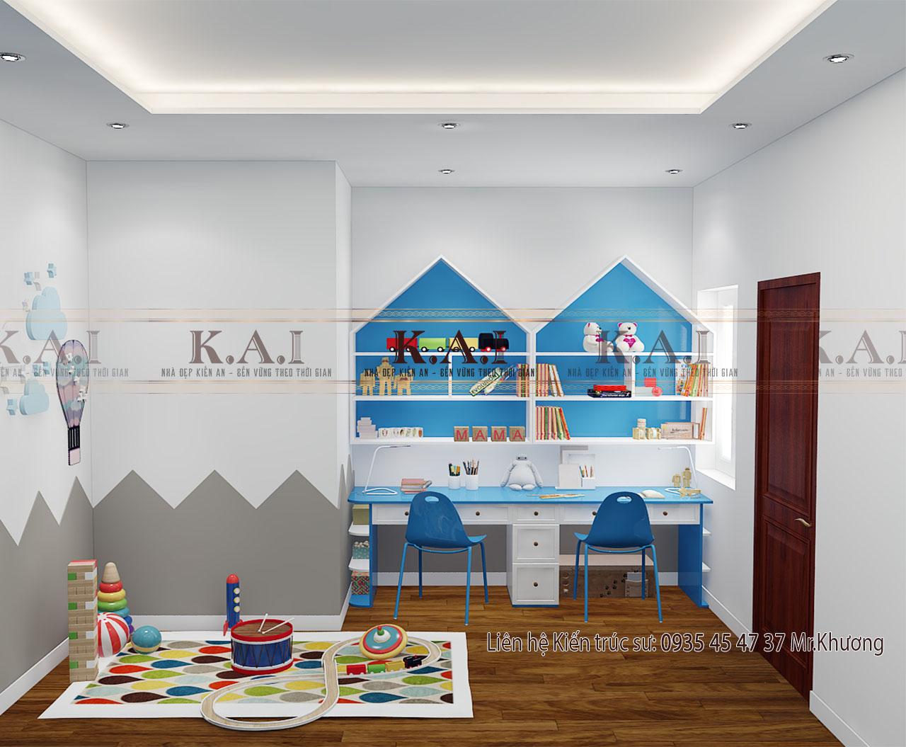 Trang trí phòng cho bé trai