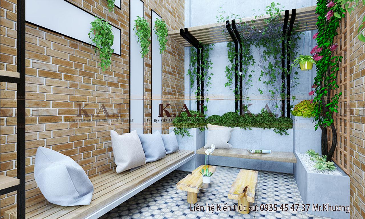 thiết kế nội thất nhà ở kết hợp kinh doanh