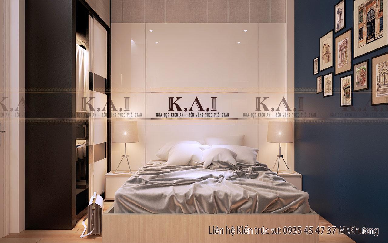 Bố trí phòng ngủ 12m2