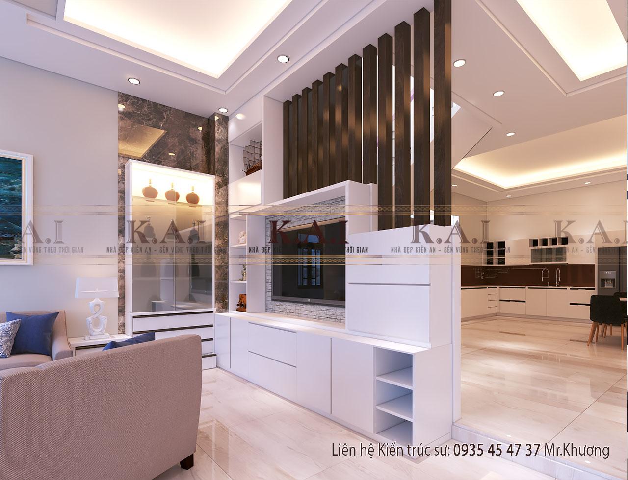 thiết kế nội thất nhà hiện đại