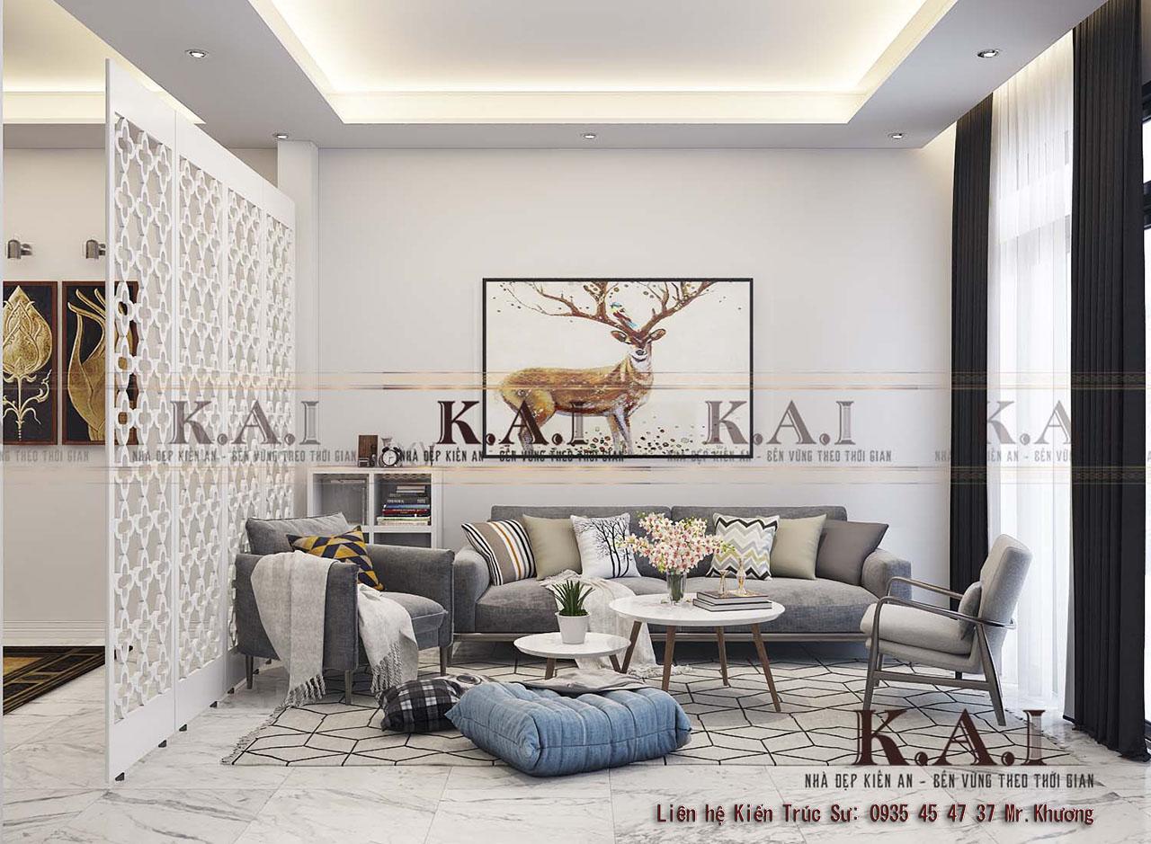 Bố trí nội thất nhà ở theo phong cách hiện đại tại Tây Ninh