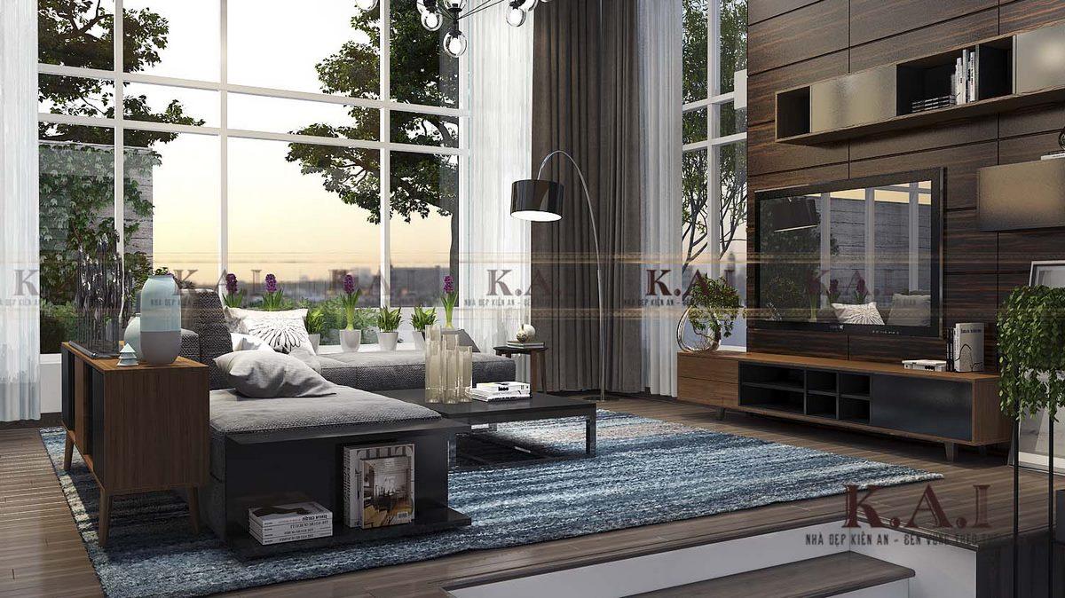 Mẫu thiết kế nội thất biệt thự 4 tầng – Chị Bình, Quảng Ninh