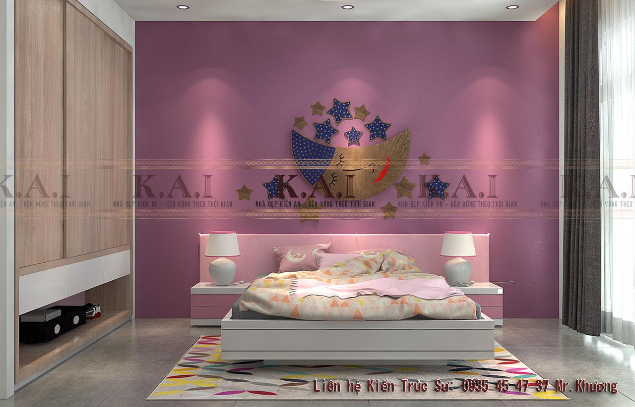 Trang trí phòng ngủ tối giản