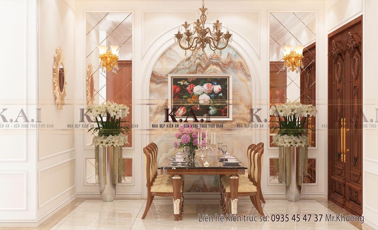 Mẫu thiết kế nội thất tân cổ điển đẹp – Anh Năm, Thanh Hóa